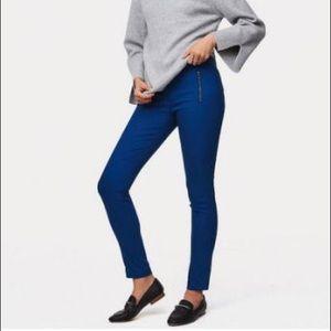 Loft cobalt blue trousers